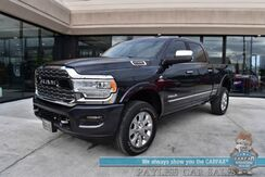 2019_Ram_2500_Limited / Turbo Diesel / 4X4 / Crew Cab / Auto Start / Heated & Cooled Leather Seats / Heated Steering Wheel / Harmon Kardon / Sunroof / Navigation / Adaptive Cruise / Blind Spot / Bed Liner / Tow Pkg / 1-Owner_ Anchorage AK