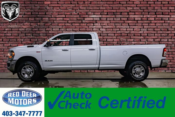 2019 Ram 3500 4x4 Crew Cab Big Horn Longbox HEMI BCam Red Deer AB