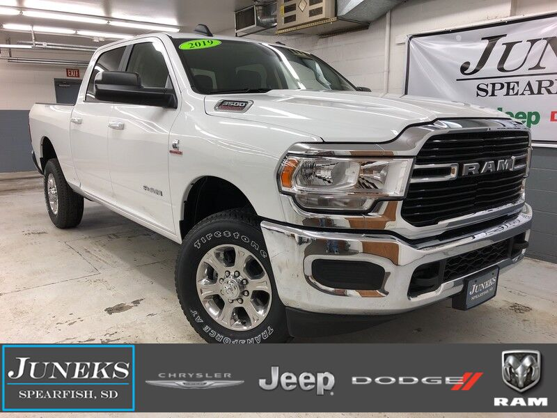 2019 Ram 3500 BIG HORN CREW CAB 4X4 6'4 BOX Spearfish SD
