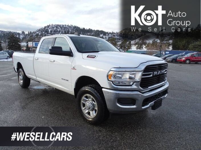 2019 Ram 3500 Big Horn Cummins Turbo Diesel, No Accidents! One Owner, Tow Package, Vinyl Flooring Kelowna BC
