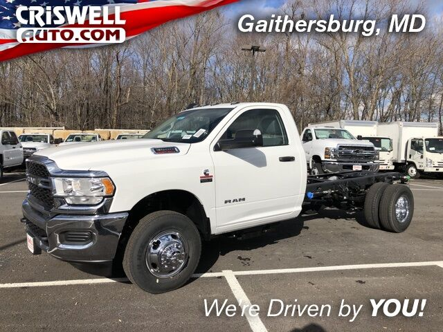 "2019 Ram 3500 Chassis Cab TRADESMAN CHASSIS REGULAR CAB 4X2 167.5 WB"" Gaithersburg MD"