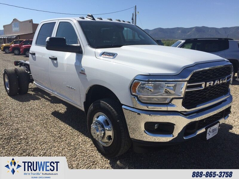 2019 Ram 3500 Chassis Cab TRADESMAN CREW CAB CHASSIS 4X4 172.4 WB""