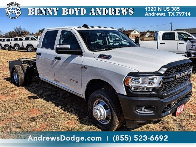 "2019 Ram 3500 Chassis Cab TRADESMAN CREW CAB CHASSIS 4X4 172.4 WB"" Andrews TX"