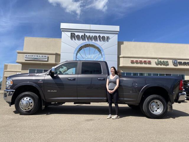 2019 Ram 3500 Laramie Crew Cab Dually - Cummins - 5th Wheel Prep - Towing Tech Group - One Owner Redwater AB