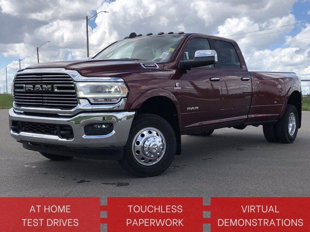 2019 Ram 3500 Laramie | 360 CAM | HTD/COOL LEATHER | 8FT BOX