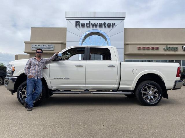 2019 Ram 3500 Longhorn Crew Cab 4X4 - Cummins - 5th Wheel Prep - Safety Group - Power Sunroof - One Owner Redwater AB