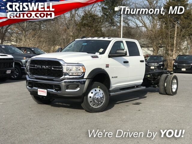 "2019 Ram 4500 Chassis Cab TRADESMAN CHASSIS CREW CAB 4X4 197.4 WB"" Thurmont MD"