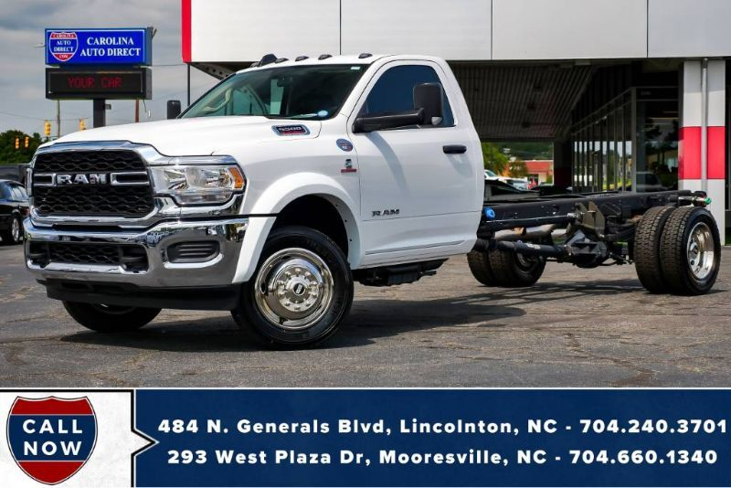 2019 Ram 5500 Chassis *CUMMINS*AISIN* 2 of 2 w/ LESS THAN 50 MILES!!! Mooresville NC