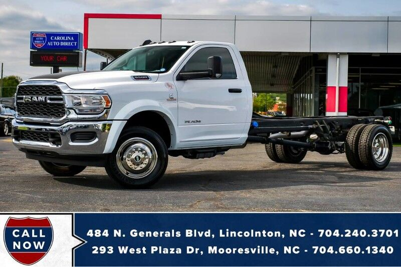 2019 Ram 5500 Chassis *CUMMINS*AISIN* w/ LESS THAN 50 MILES!!! Mooresville NC