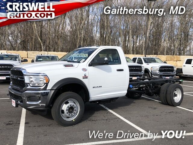 "2019 Ram 5500 Chassis Cab TRADESMAN CHASSIS REGULAR CAB 4X2 168.5 WB"" Gaithersburg MD"