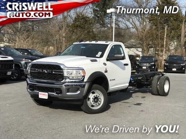 "2019 Ram 5500 Chassis Cab TRADESMAN CHASSIS REGULAR CAB 4X2 192.5 WB"" Thurmont MD"