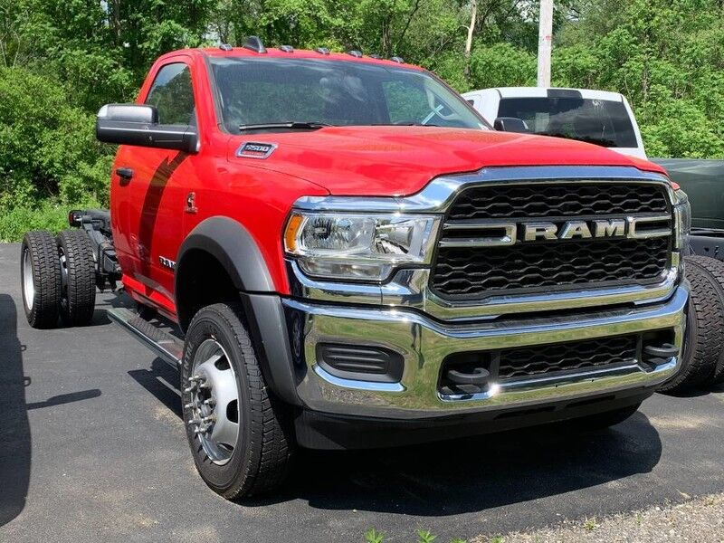 "2019 Ram 5500 Chassis Cab TRADESMAN CHASSIS REGULAR CAB 4X4 168.5 WB"" Little Valley NY"