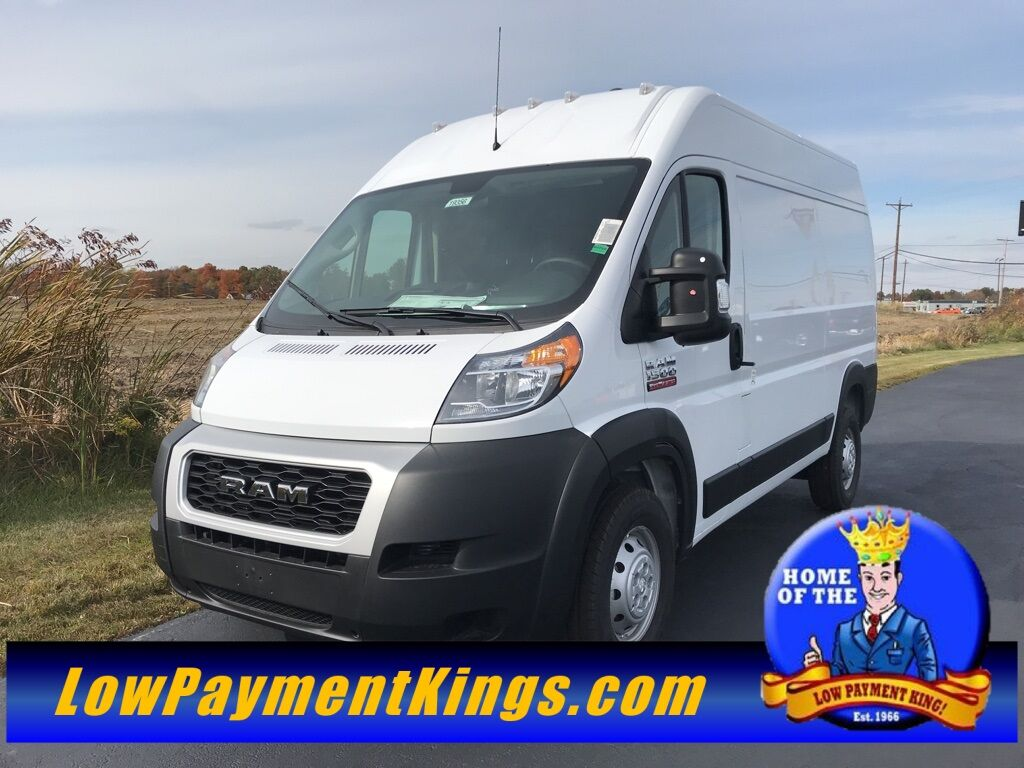 "2019 Ram ProMaster 1500 CARGO VAN HIGH ROOF 136 WB"" Shelby OH"