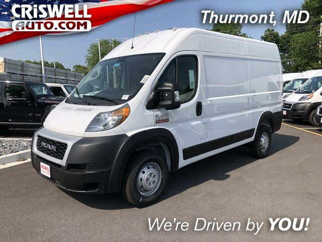 "2019 Ram ProMaster 1500 CARGO VAN HIGH ROOF 136 WB"" Thurmont MD"