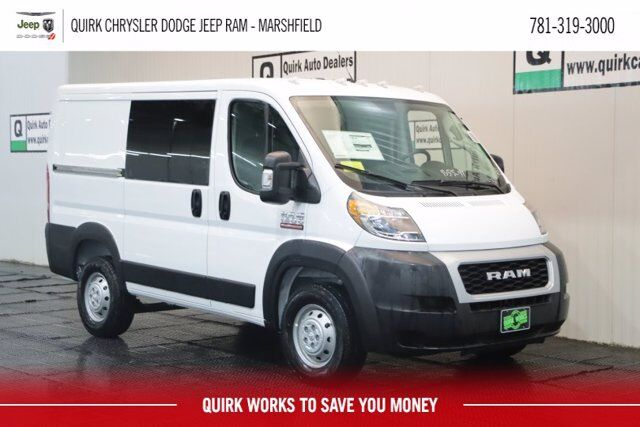 "2019 Ram ProMaster 1500 CARGO VAN LOW ROOF 118 WB"" Marshfield MA"
