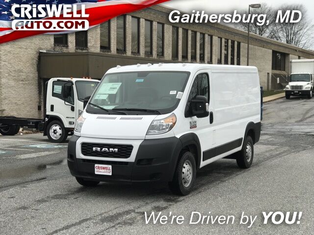 "2019 Ram ProMaster 1500 CARGO VAN LOW ROOF 136 WB"" Gaithersburg MD"