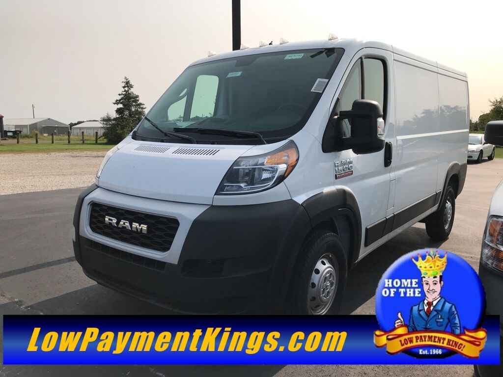 "2019 Ram ProMaster 1500 CARGO VAN LOW ROOF 136 WB"" Shelby OH"