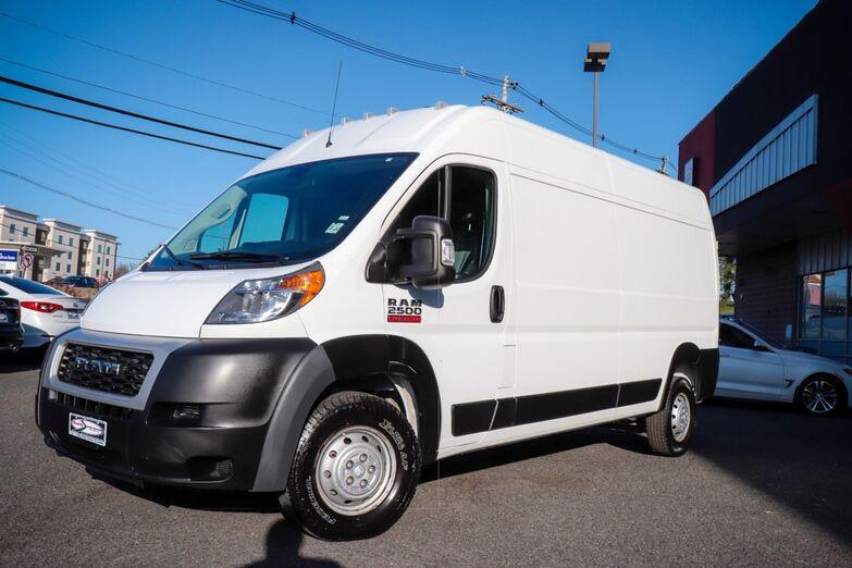 2019 Ram ProMaster Cargo Van High Roof 159 Cargo Backup Camera 1 Owner Springfield NJ