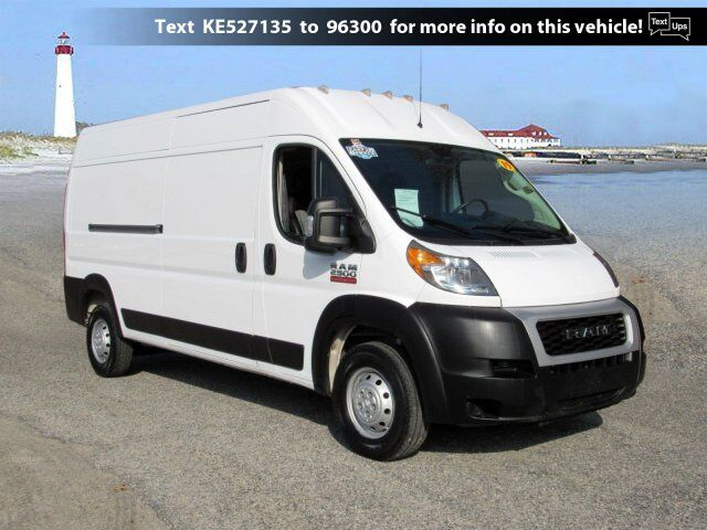 2019 Ram ProMaster Cargo Van High Roof South Jersey NJ