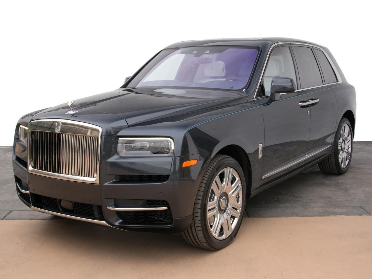 2019 Rolls-Royce Cullinan Launch Edition