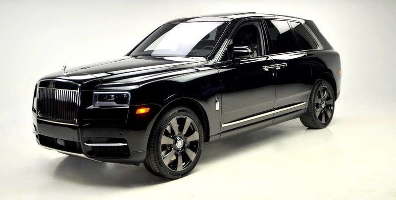 2019 Rolls-Royce Cullinan Launch Package