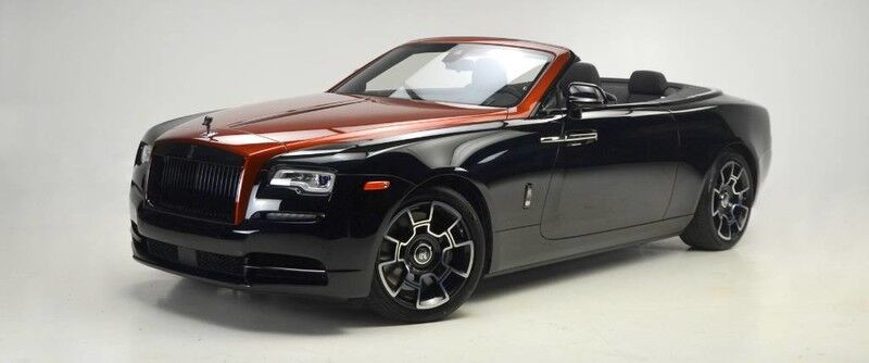 2019 Rolls-Royce DAWN BLACK BADGE ADAMAS COLLECTION