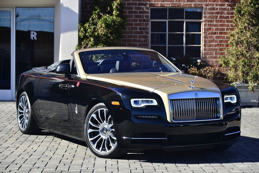 2019_Rolls-Royce_Dawn Year of the Pig__ Beverly Hills CA