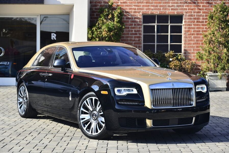 2019_Rolls-Royce_Ghost Year of the Pig__ Beverly Hills CA