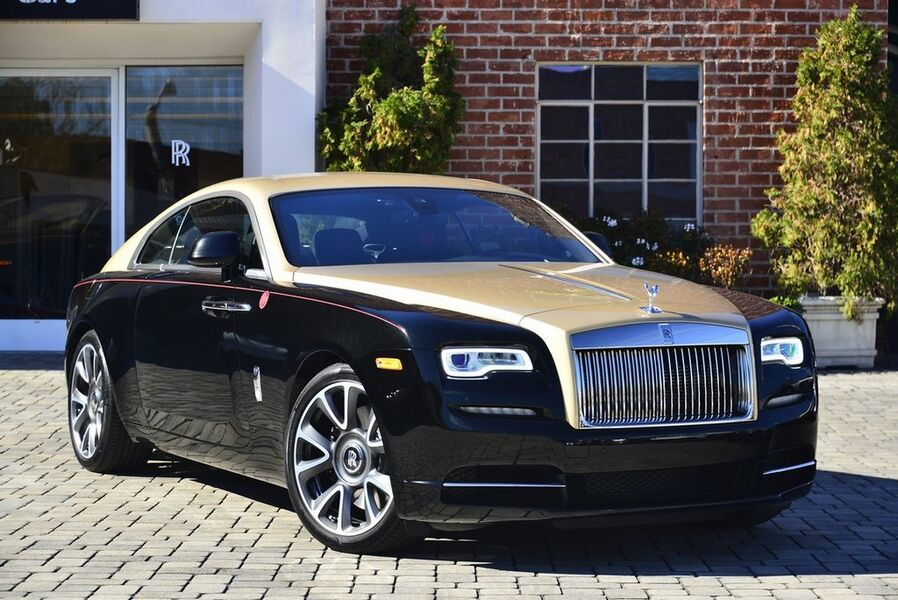 2019_Rolls-Royce_Wraith Year of the Pig__ Beverly Hills CA