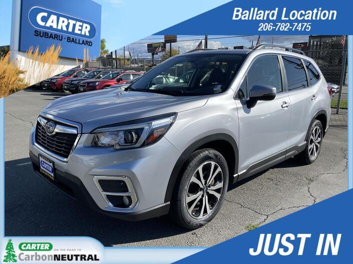 2019 Subaru Forester Limited Seattle WA