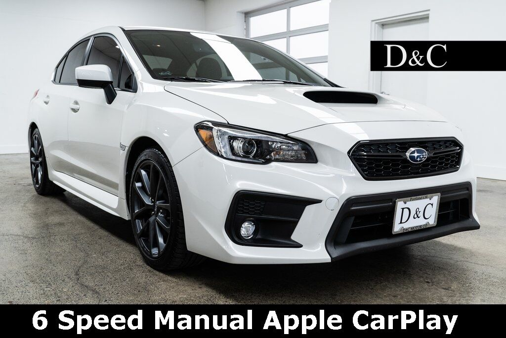 2019 Subaru WRX Limited 6 Speed Manual Apple CarPlay Portland OR