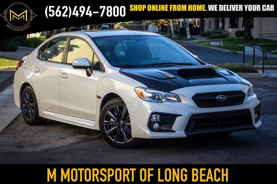 2019_Subaru_WRX_WRX Premium Sedan 4D_ Long Beach CA