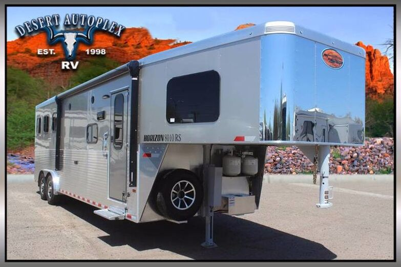 2019 Sundowner Horizon 8010RS 3-Horse Trailer Mesa AZ