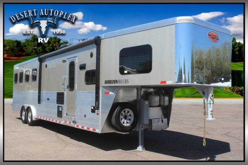 2019 Sundowner Horizon 8011rs 4 Horse Gooseneck Trailer