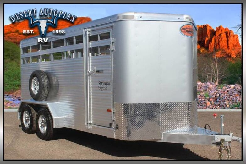 2019 Sundowner Stockman Express 16BP Livestock Trailer Mesa AZ
