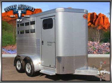 Sundowner Stockman Special 2-Horse Trailer Mesa AZ