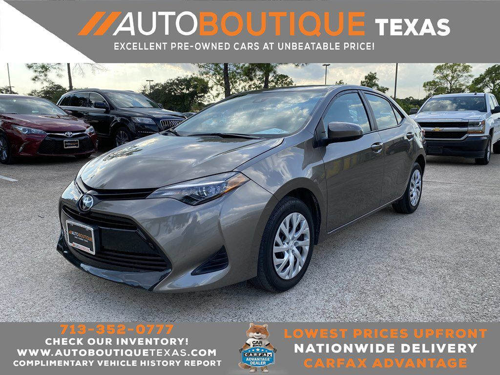 2019 TOYOTA COROLLA LE LE Houston TX