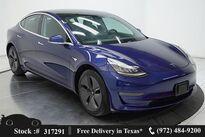 Tesla Model 3 Long Range NAV,CAM,PANO,PARK ASST,18IN WLS 2019
