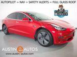 2019 Tesla Model 3 Standard Range Plus *NAVIGATION, SAFETY ALERTS, ADAPTIVE CRUISE, SURROUND VIEW CAMERAS, GLASS ROOF, HEATED SEATS, ALLOY WHEELS, BLUETOOTH PHONE & AUDIO