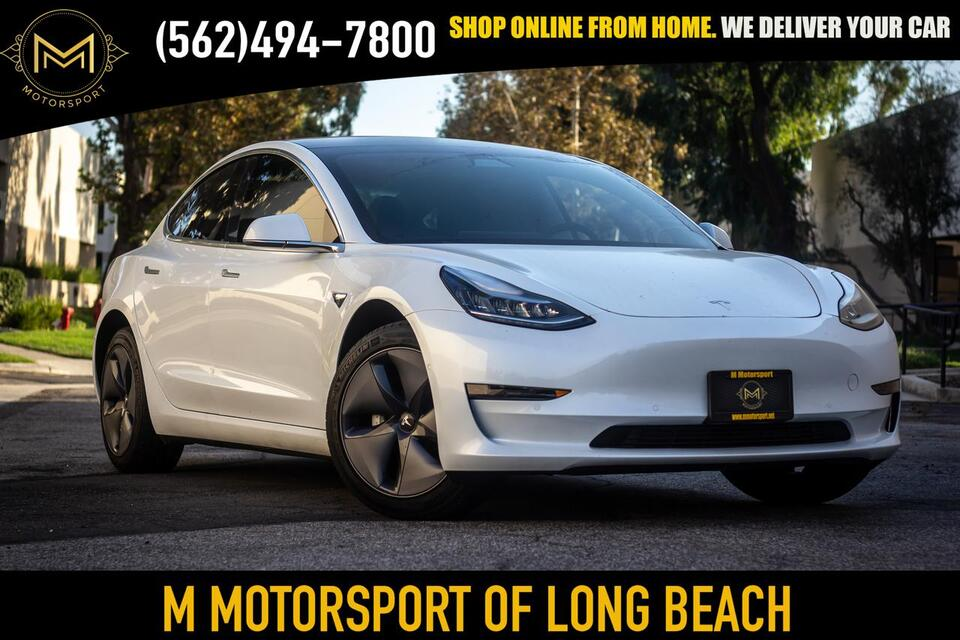 2019_Tesla_Model 3_Standard Range Plus Sedan 4D_ Long Beach CA