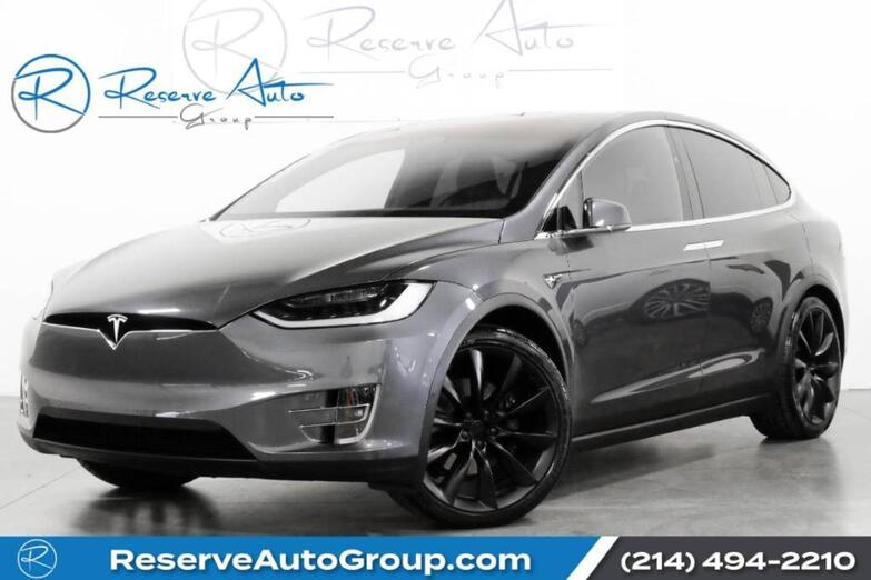 2019 Tesla Model X 100D 3rd Row Air Suspension High Fidelity Sound The Colony TX