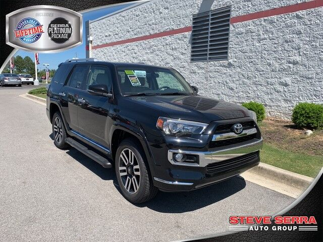 2019 Toyota 4Runner 4X4 LIMITED V6 Central and North AL