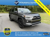 2019 Toyota 4Runner Limited 4WD ** Pohanka Certified 10 Year / 100,000 **