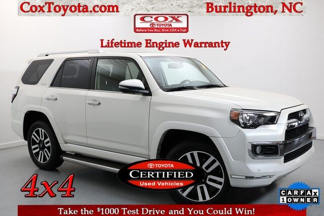 2019 Toyota 4Runner Limited Burlington NC