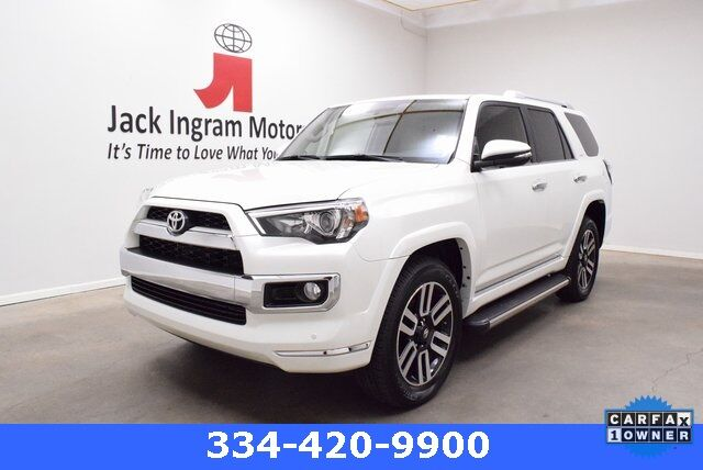 2019 Toyota 4Runner Limited Montgomery AL