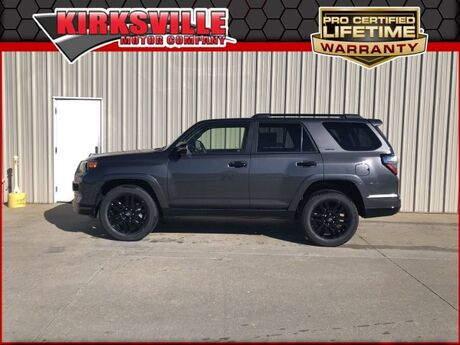 2019 Toyota 4Runner Limited Nightshade 4WD Kirksville MO