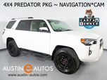 2019 Toyota 4Runner SR5 4WD *XP PREDATOR PACKAGE, NAVIGATION, BACKUP-CAMERA, TOUCH SCREEN, TRD MATTE BLACK WHEELS, STEP BAR, TRD PRO GRILLE, BLUETOOTH PHONE & AUDIO