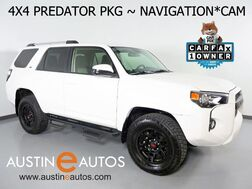 2019_Toyota_4Runner SR5 4WD_*XP PREDATOR PACKAGE, NAVIGATION, BACKUP-CAMERA, TOUCH SCREEN, TRD MATTE BLACK WHEELS, STEP BAR, TRD PRO GRILLE, BLUETOOTH PHONE & AUDIO_ Round Rock TX