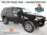 2019 Toyota 4Runner TRD Off Road 4WD *NAVIGATION, BACKUP-CAMERA, TOUCH SCREEN, STEERING WHEEL CONTROLS, ALLOY WHEELS, TOW, BLUETOOTH PHONE & AUDIO