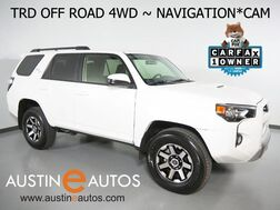 2019_Toyota_4Runner TRD Off Road 4WD_*NAVIGATION, BACKUP-CAMERA, TOUCH SCREEN, STEERING WHEEL CONTROLS, ALLOY WHEELS, TOW, BLUETOOTH PHONE & AUDIO_ Round Rock TX